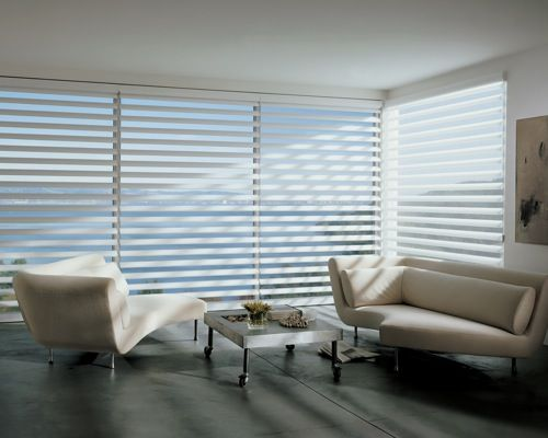 Perfect modern and private window covering Pirouette Window