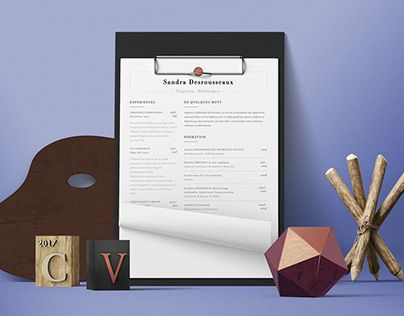 Check out new work on my @Behance portfolio  - how to update a resume