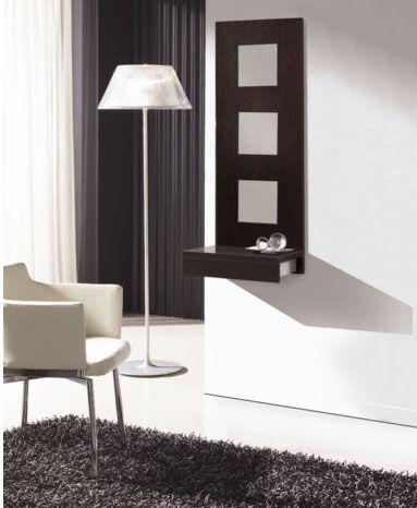 Muebles recibidores para entradas pequeñas | Entradas pequeñas ...