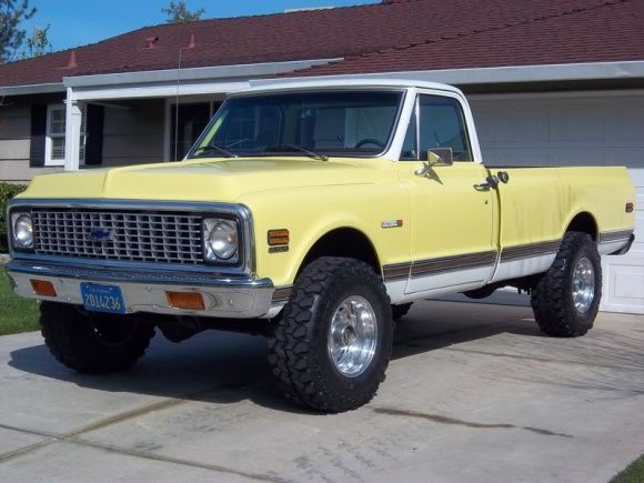 Backfire Discount 1971 Chevrolet C 10 Cheyenne 4x4 Old Chevy 4x4