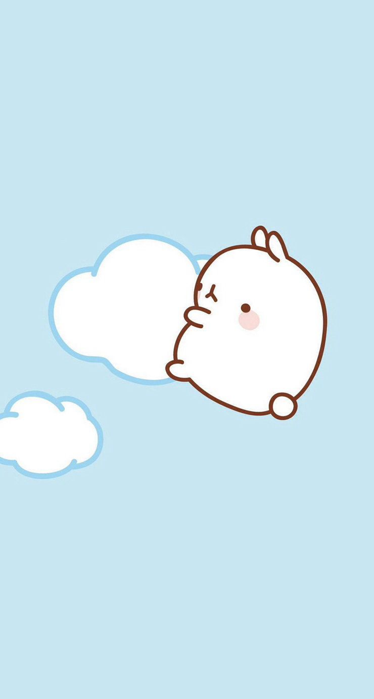 It is Molang | Cute characters in 2019 | Cute cartoon ...