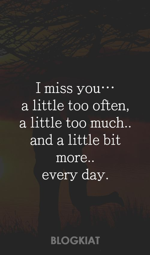 50+ Cute I Miss You Quotes, Sayings, Messages For Him/Her | Messages, Deep  Thoughts And Thoughts