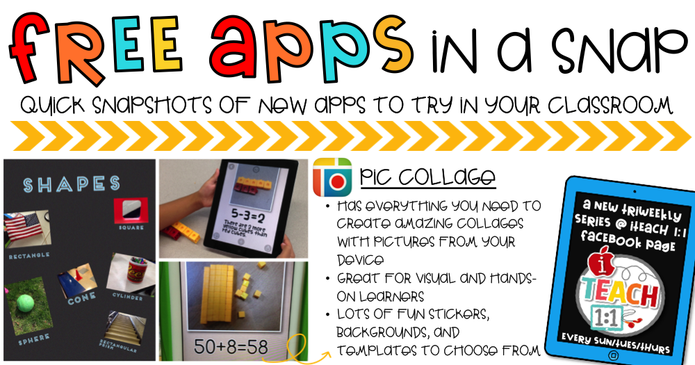 Pic Collage Free apps, News apps, Teaching technology