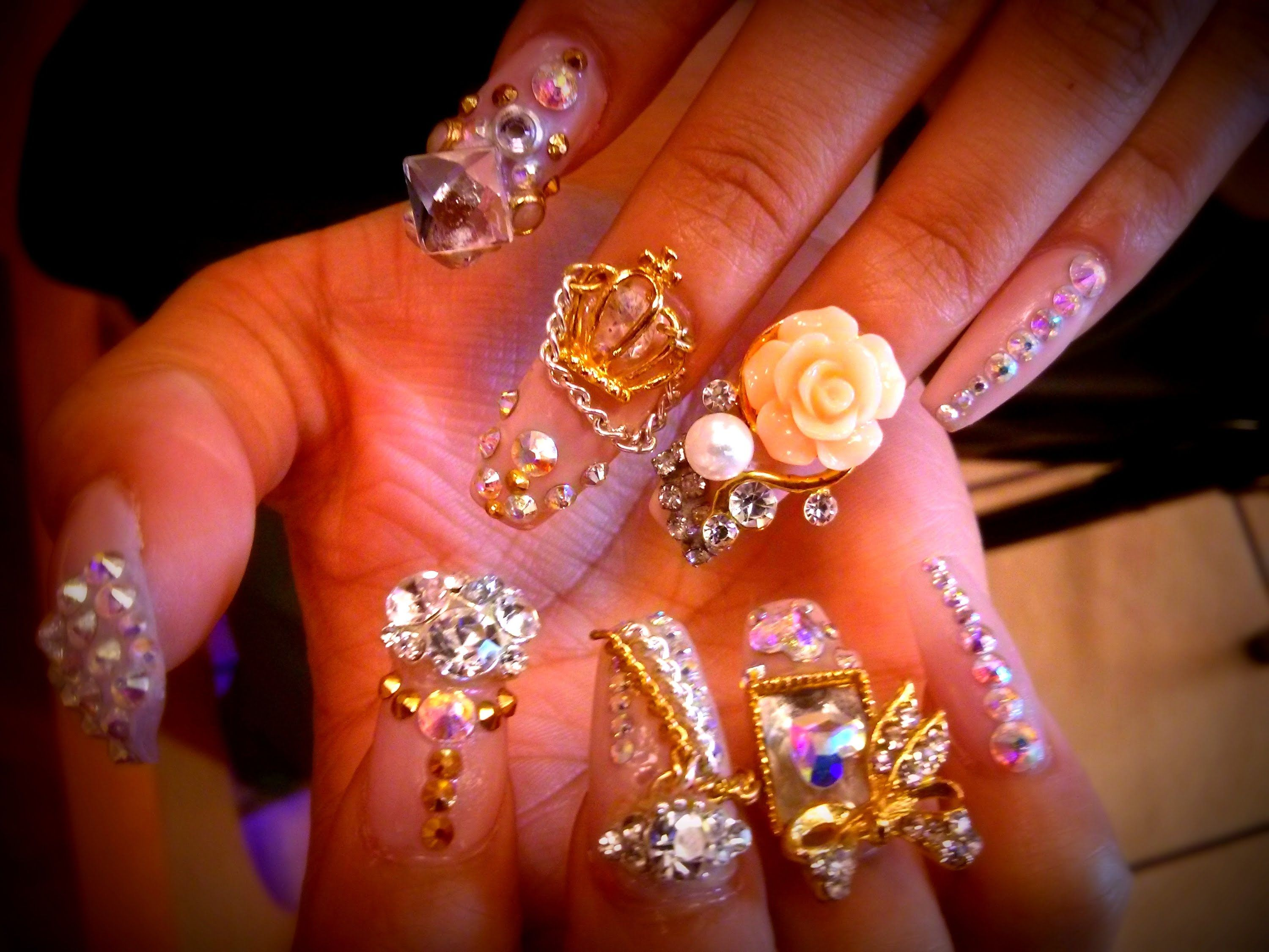 COFFIN NAILS 3D DESIGNS | Nails & Toes Designs to re-create DIY ...