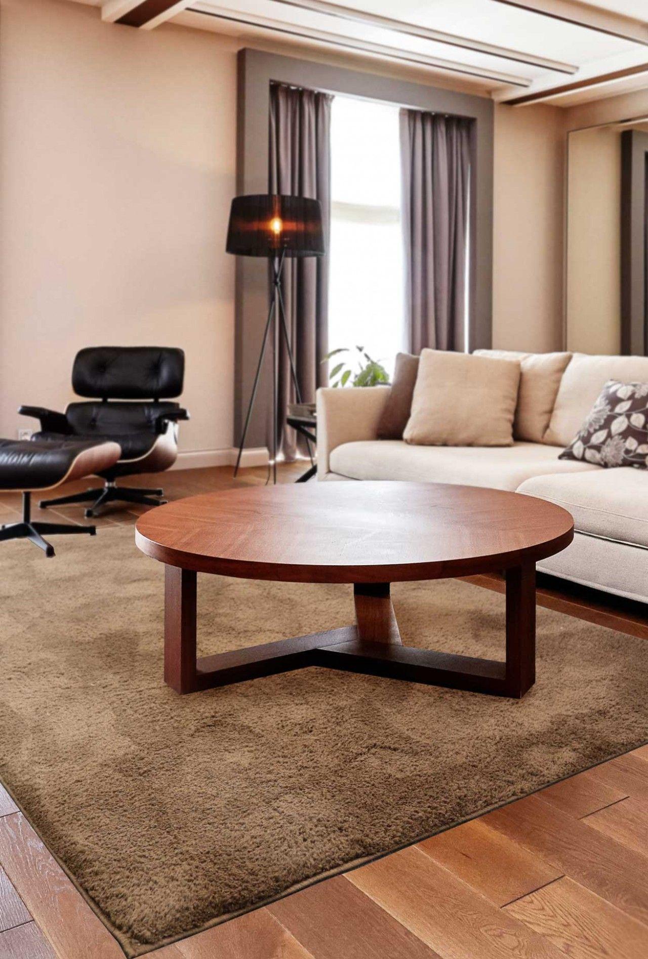 Moderne Teppiche für Wohnzimmer - moderner Teppich - kurzflor shaggy ...