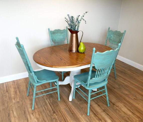 31+ Teal dining table set Best Choice