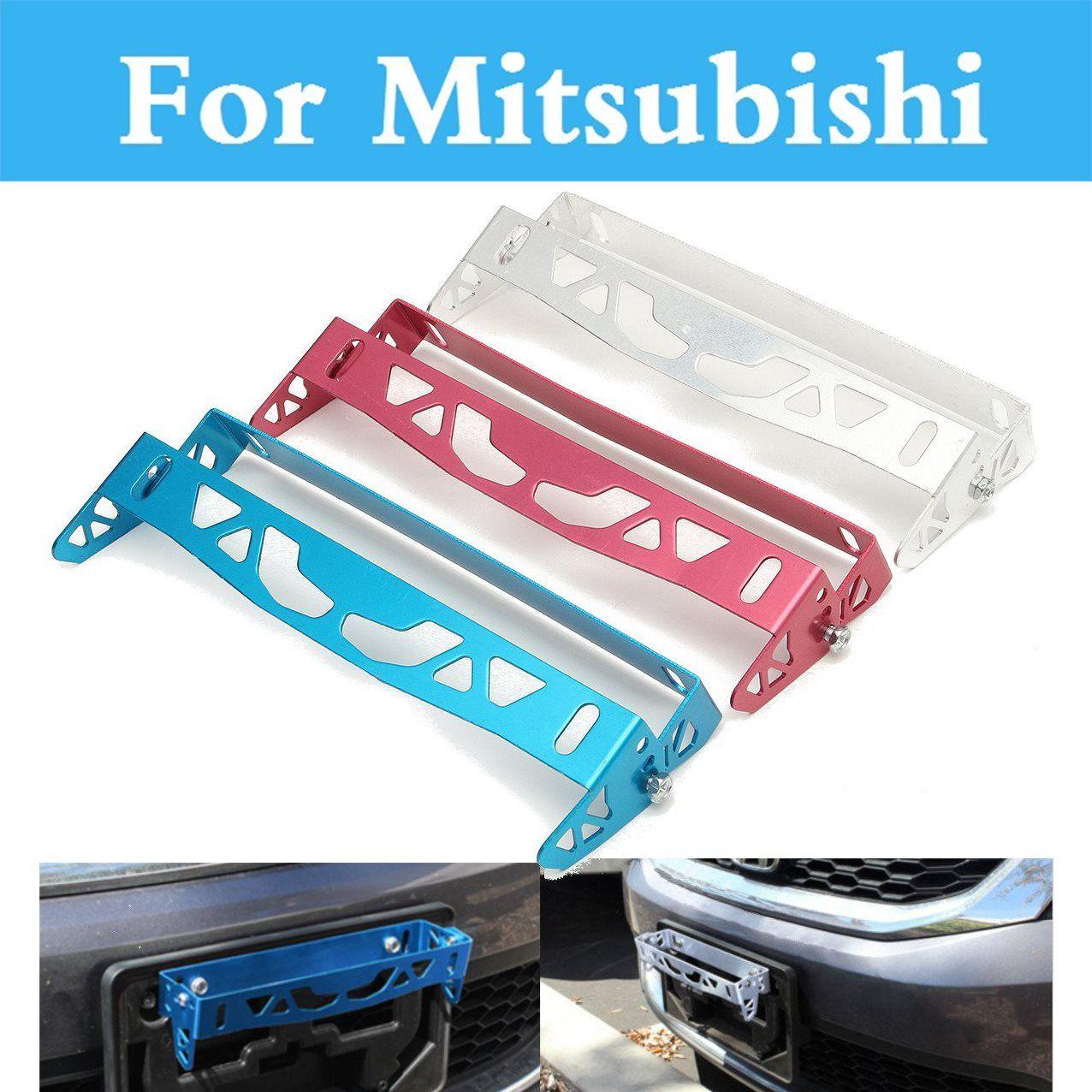 License Frame Registration Plate Power Race Tag Holder For - Mitsubishi registration