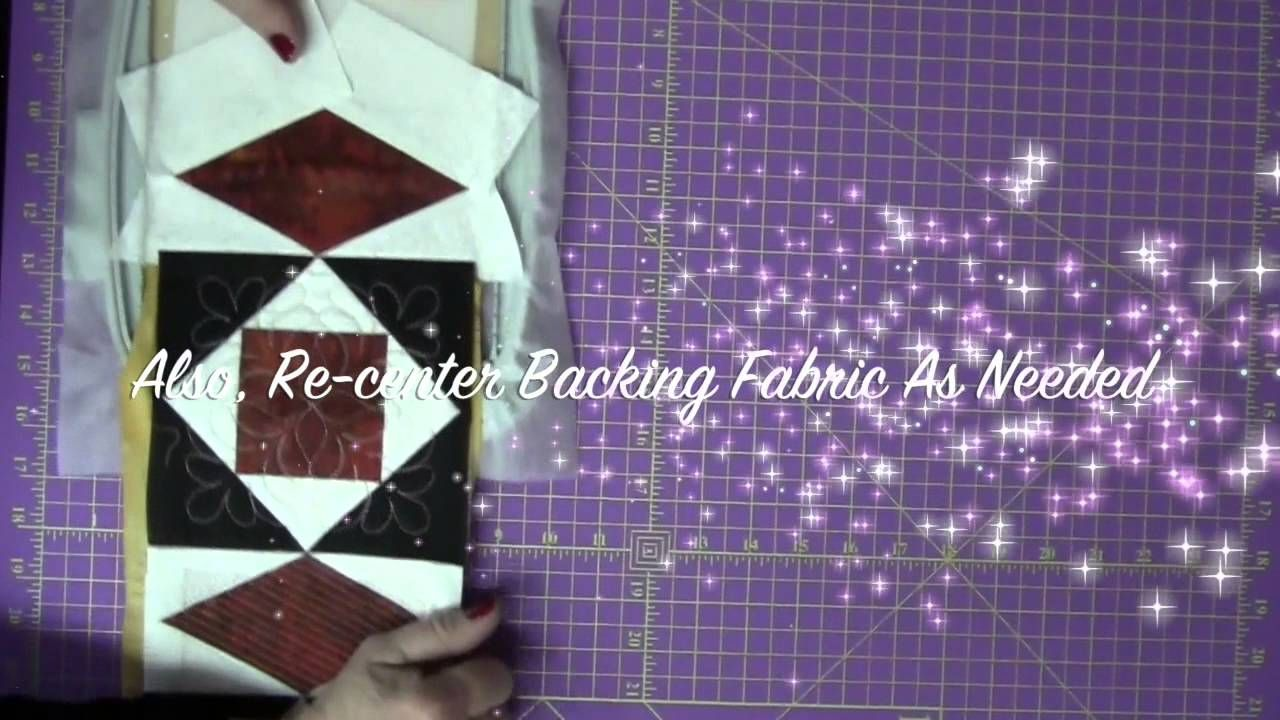 Joining Quilt Blocks with Continuous Backing and Batting Strips