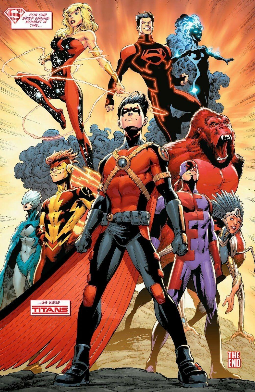 Would Teen titans dc comic phrase brilliant