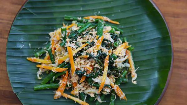 Sayur Urap Resep Resep Di 2020 Resep Makanan Pembuka Makanan Cabai Rawit