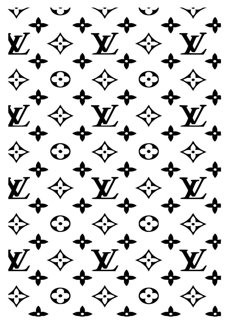 Excited To Share This Item From My Etsy Shop Louis Vuitton Pattern Instant Download Svg D In 2020 White Louis Vuitton Louis Vuitton Pattern Black And White Aesthetic