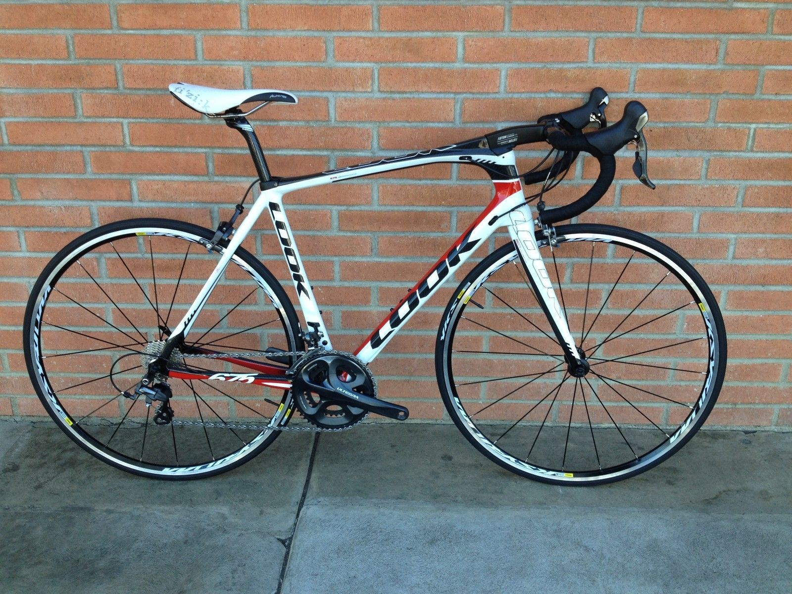New Look 675 Carbon Road Bike Shimano Ultegra Size Large In