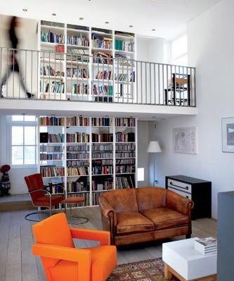 arquiteturadoimóvel: Espaços para leitura