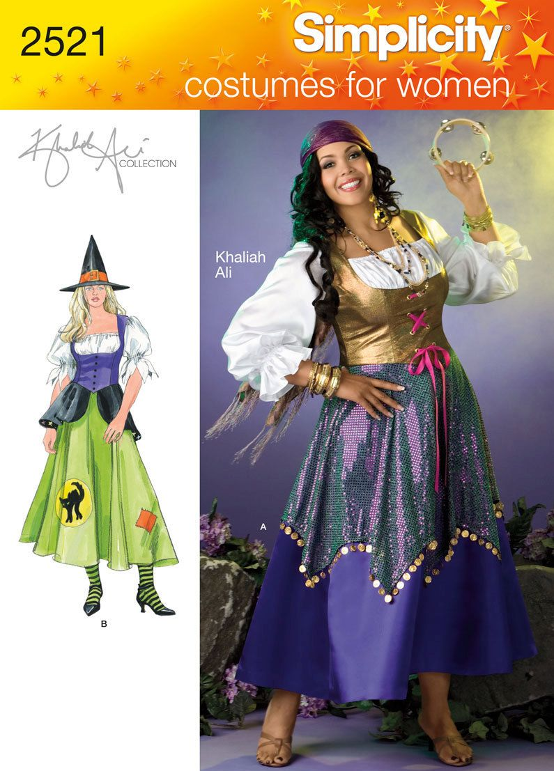 Witch Costume Pattern Custom Decorating Ideas