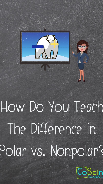 How Do You Teach the Difference in Polar vs. Nonpolar Molecules