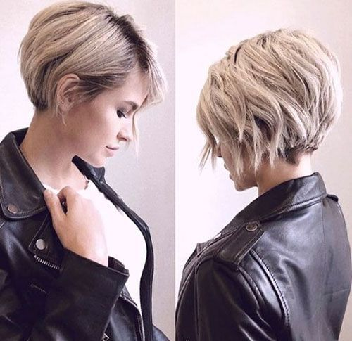 Photo of Short Hair with layers – My Blog