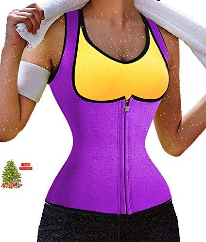 3f756bf2e1 Sauna Waist Trainer Ursexyly Hot Cincher Promotes Sweating during Exercise  L Purple    More info could be found at the image url.