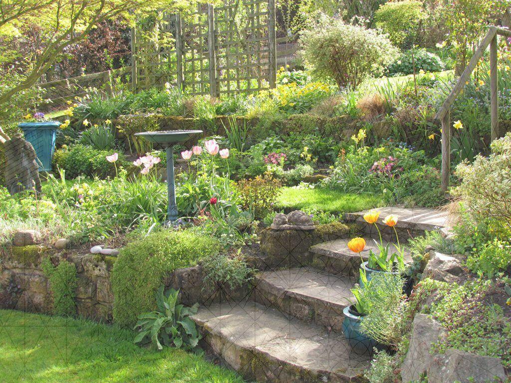 9 Incredible Cool Ideas Garden Ideas Vegetable Square Feet Backyard Garden Patio Pools Backyard Garden Sloped Backyard Landscaping Garden Steps
