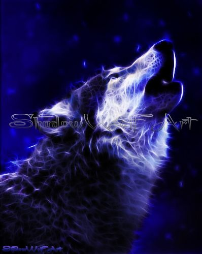 Shadow Wolf I Am Drawn To The Image Of Howling