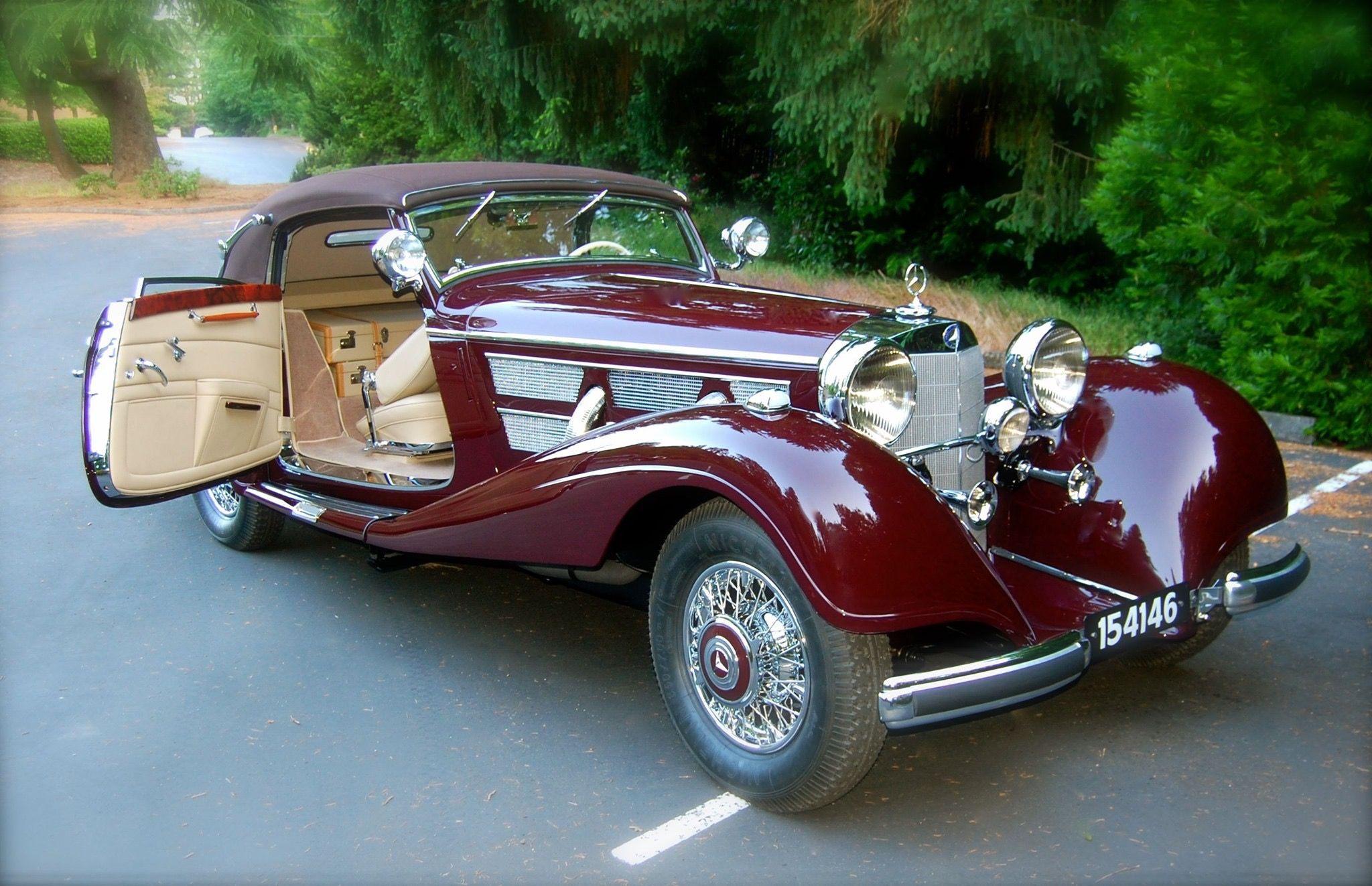 1937 Mercedes Benz 540k Cabriolet A Mercedes Benz Classic Classic Mercedes Classic Cars
