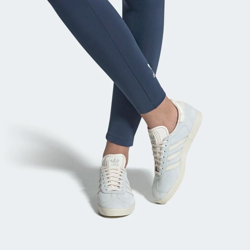 Gazelle Shoes Blue Tint / Chalk White / Chalk White EE5547 ...