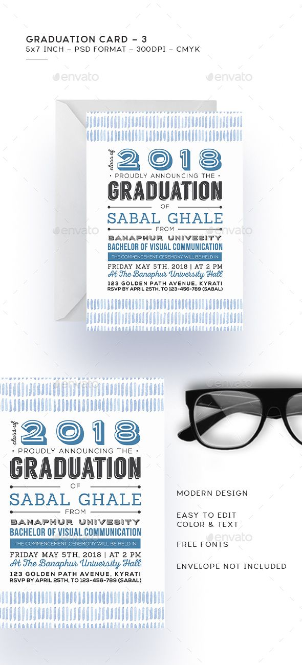 Graduation Card   Graduation Cards Print Templates And Template