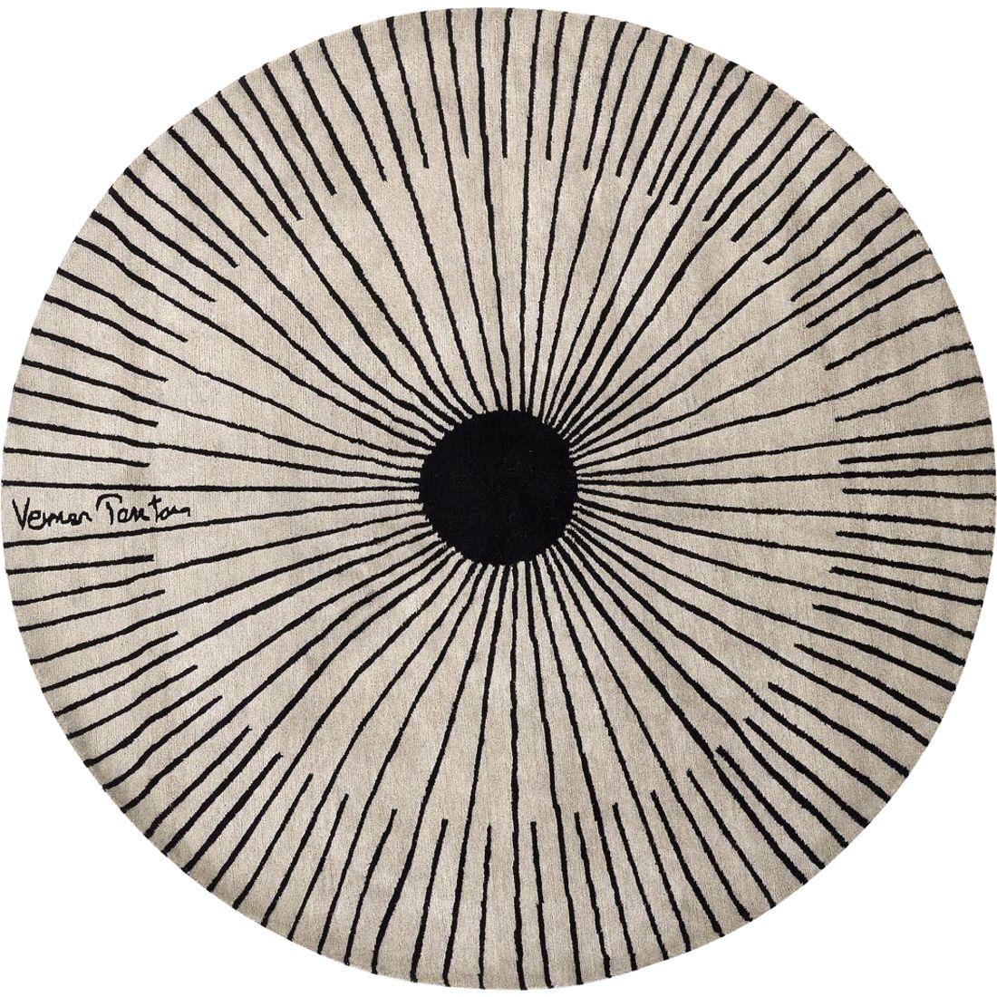 Der Vp Rays Teppich von Designercarpets, Design 1995 von Verner ...