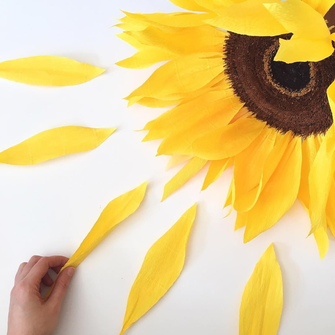 Ium working on a commission for two oversized sunflowers today i