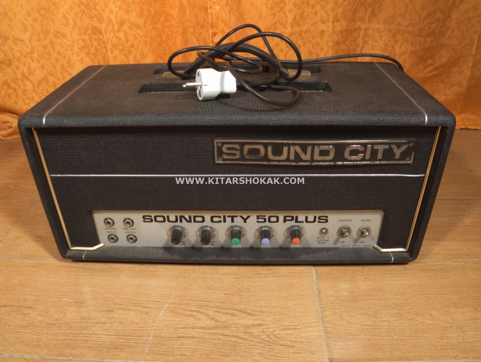 SOUND CITY 50 PLUS EARLY 70´S VINTAGE (MULLARD & BRIMAR NOS TUBES) VENTA-CAMBIO / SALGAI-ALDATZEKO / SALE-TRADE! 950€ http://www.kitarshokak.com/listado.php?lang=es&id=1373&seccion=