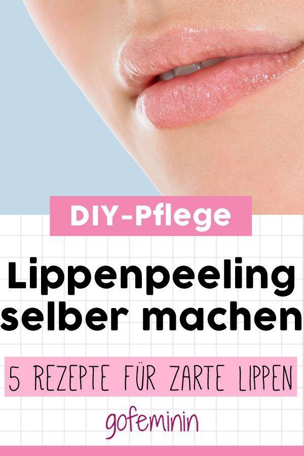 Machen Sie sich ein Lippenpeeling: Mit diesen Peelings werden Sie schnell geschmeidige Lippen bekommen!   - Beauty-Tipps // Make-up Tutorials -