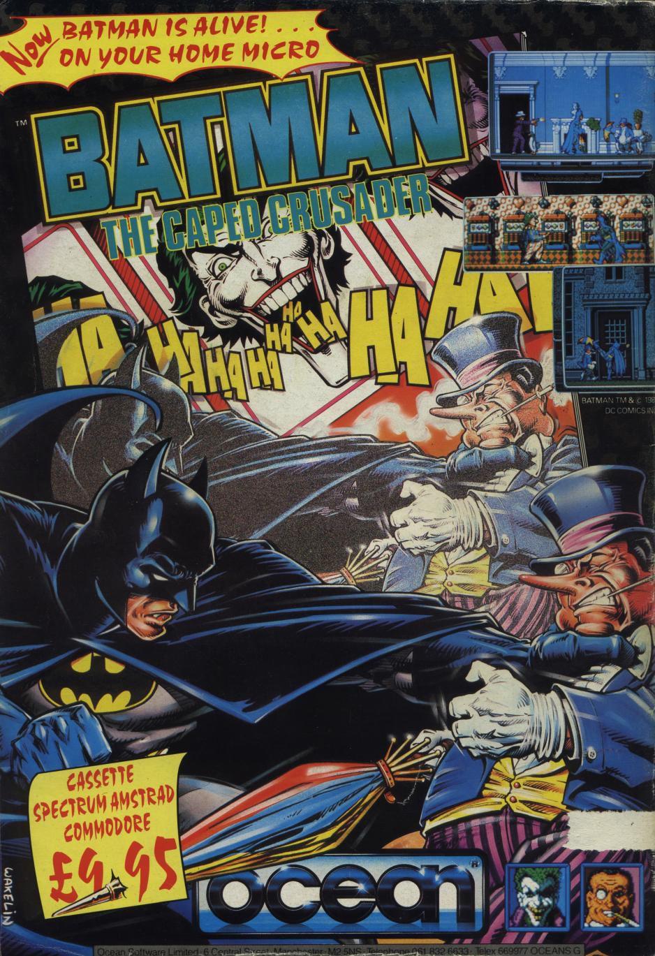 Resultado de imagen de batman caped crusader videojuego