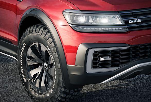 Tiguan Gte Active Volkswagen Crossover Suv Dual Clutch Transmission