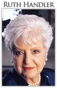 ruth handler research paper Find out information on ruth handler's life in this this research gave birth to the company's first ruth and her husband izzy handler resigned from.