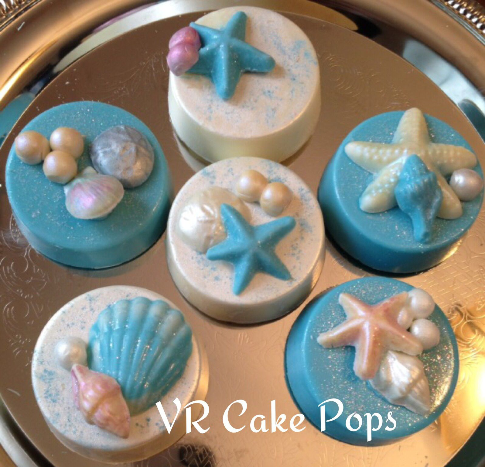 Under the sea oreos beach theme My sweet 15