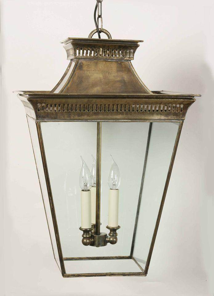 Period Exterior Lanterns Large Pagoda Pendant Bespoke Lighting Products The Limehouse Lamp Company Ltd Brass Lantern Hanging Lanterns Hanging Lights