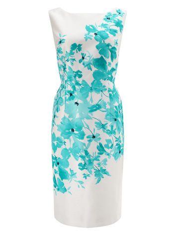 JACQUES VERT DELPHI PLACEMENT PRINT DRESS | Annabel dress ...