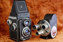 Fotokamera Alte Kamera Kamera Alte Spiegelreflexkamera