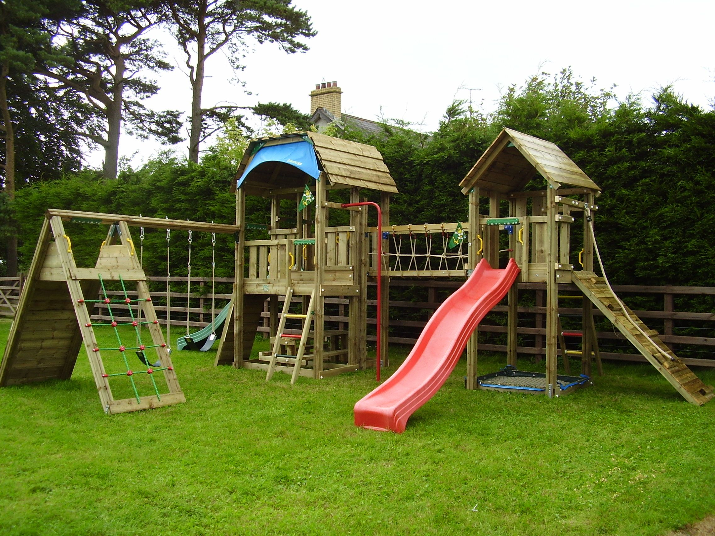 Jungle Gym Built By Neil Henry For Woodstoc Northern Ireland.