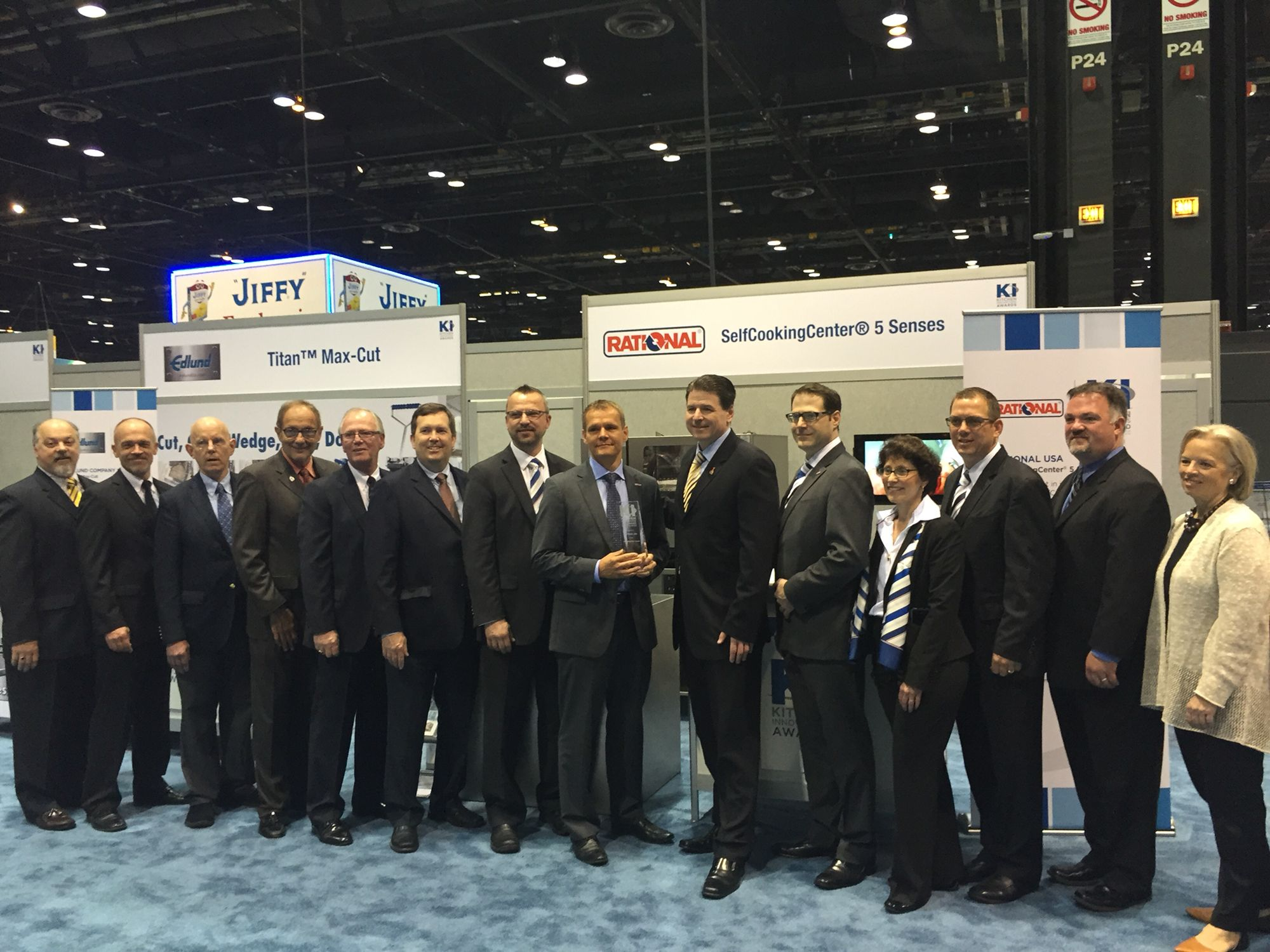 today rational usa was presented with the 2015 kitchen innovations award come see us at - Kcheninnovationen 2015