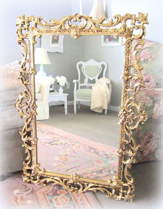 Gold Hollywood Regency Mirrors For Sale 49x36 By Revivedvintage Mirrors For Sale Hollywood Regency Mirror Hollywood Regency Decor