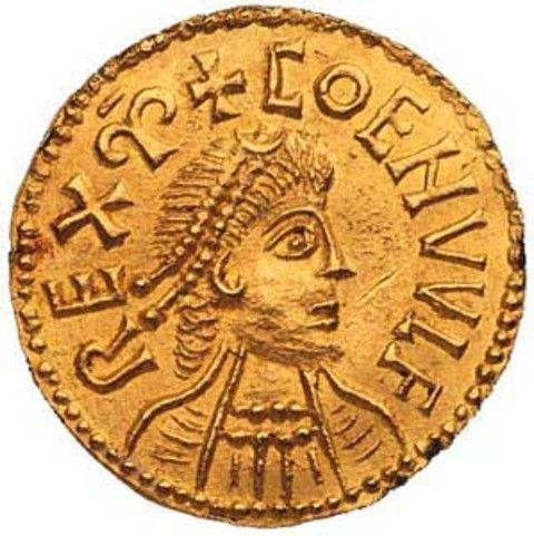 Anglo Saxon gold coin | Beowulf | Pinterest | Anglo saxon, Gold ...