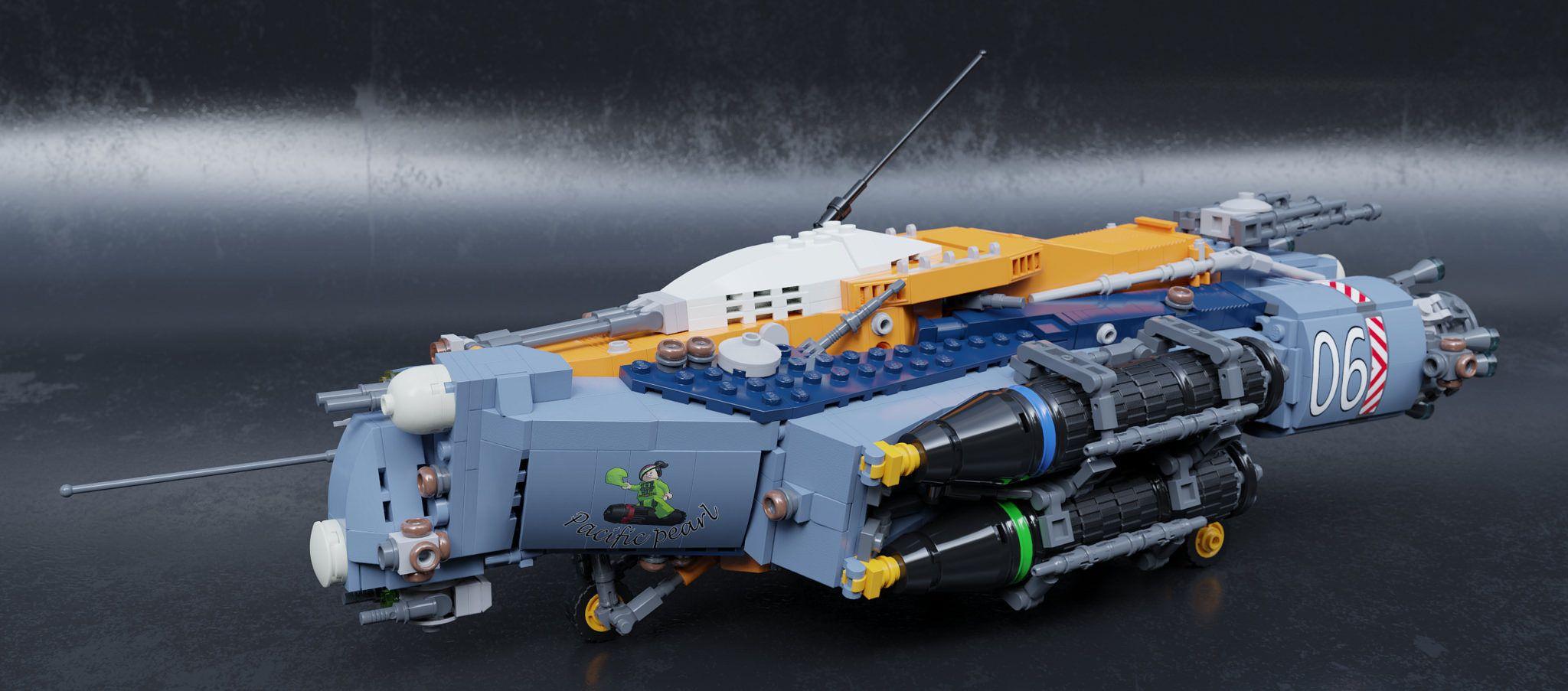 SB 17A2 Heavy bomber | Lego spaceship, Lego star, Cool lego