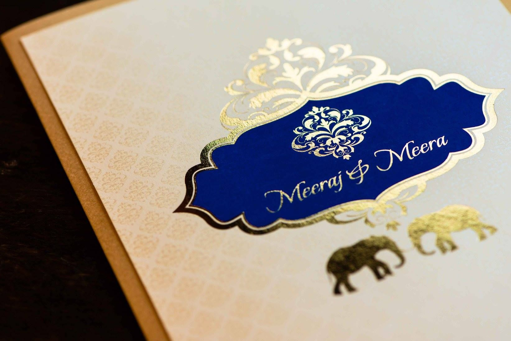 indian wedding invitation mumbai%0A Gold foil  u     matte print invitations by Disha Mehta  Customizing Creativity