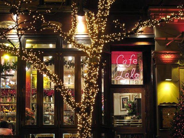El Cafe Lalo La 5th Con Bleecker St Nyc Coffee Shop New York City Travel Photo