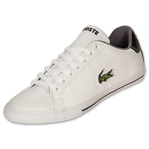 mens lacoste white shoes | Lacoste Graduate Vulc Men's Athletic ...