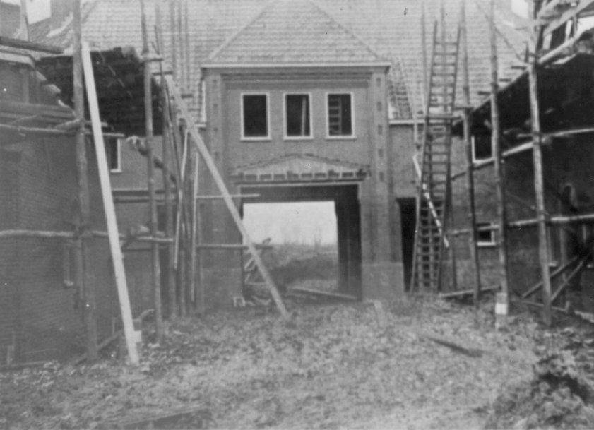 Brinkpoort in aanbouw 1917.