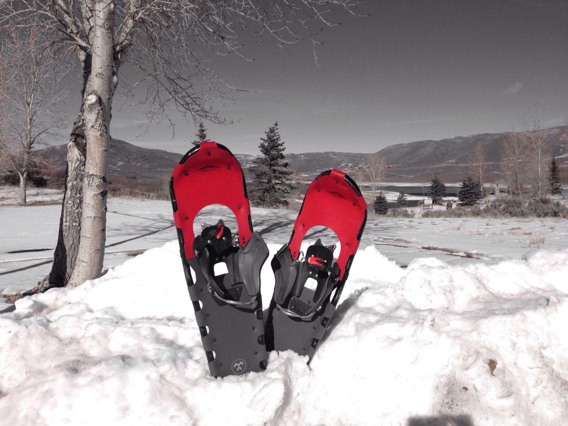 Snow shoe rentals at Jordanelle. Just 5/day! Snow shoes