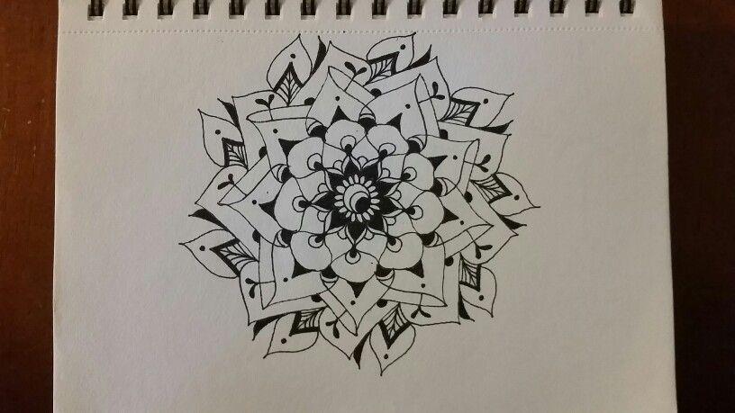 Ink bloom
