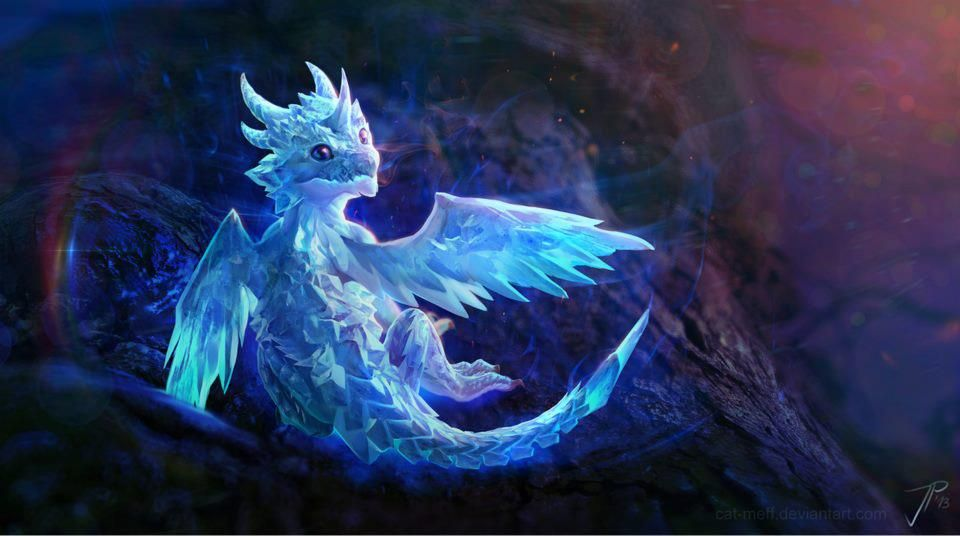 ice elemental dragons - photo #27