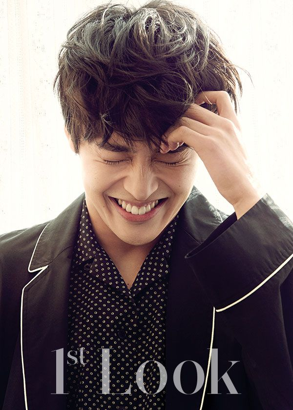 Kang Ha Neul - 1st Look Magazine